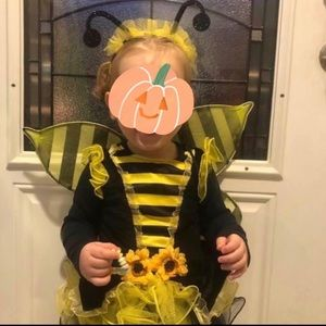 Bumble bee Halloween / dress up costume 2T-4T